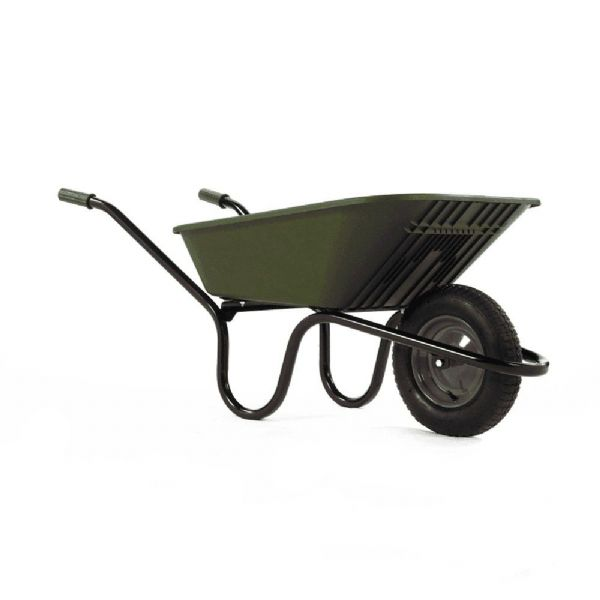 Vibrante Go Plastic Wheelbarrow | Garden Wheel Barrow